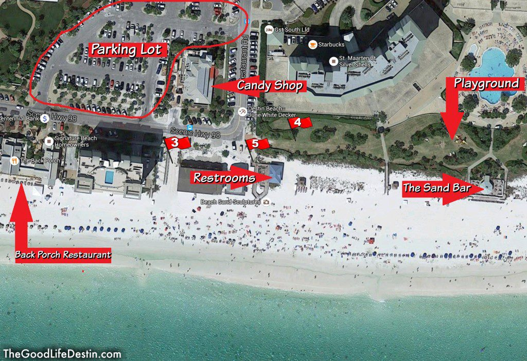 Public Beach Access Destin Florida