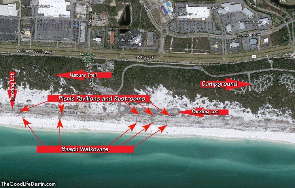 Map Of Destin Fl  Map Destin Panama City Florida, Map Of