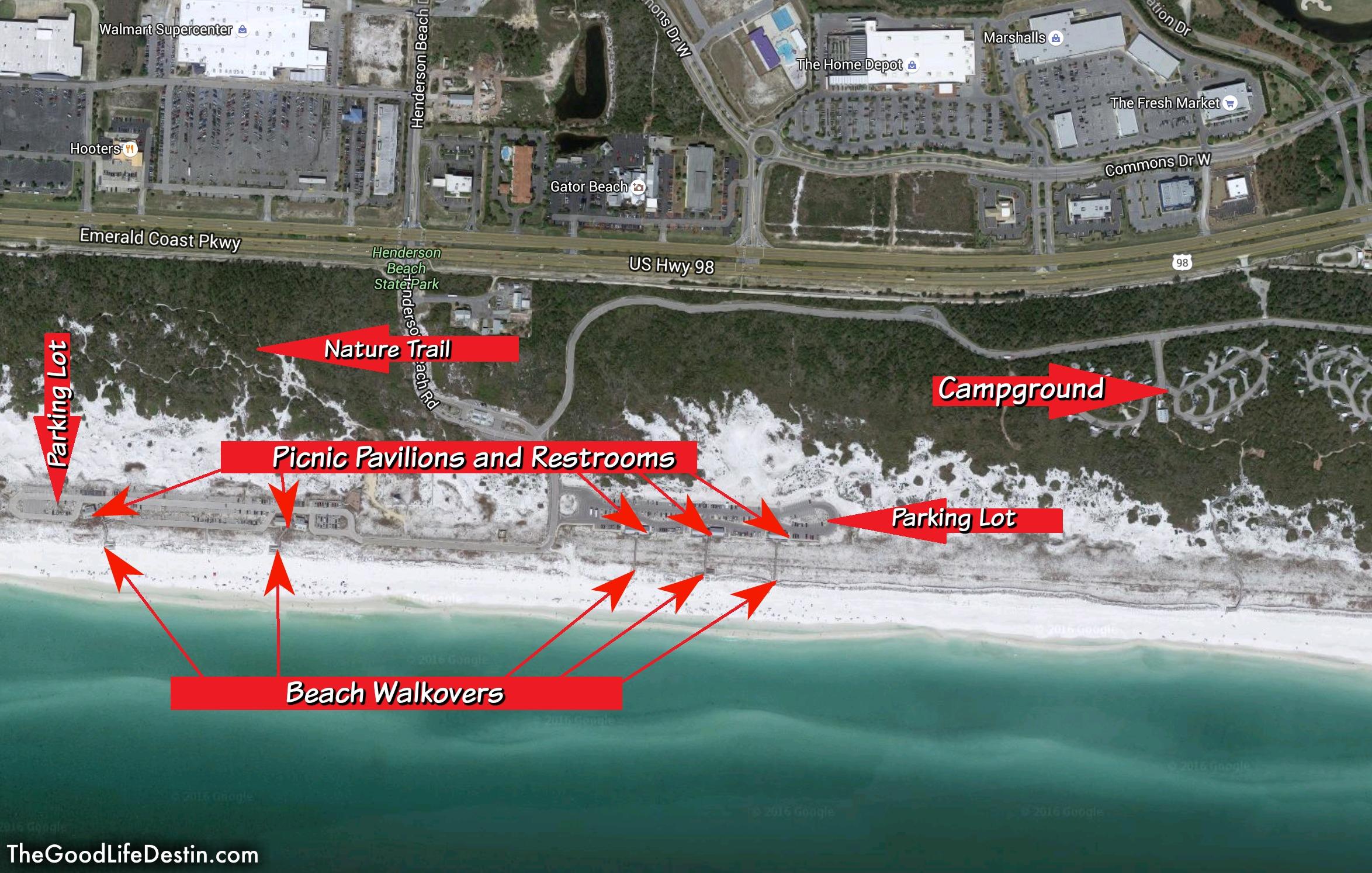 Public Parking Panama City Beach