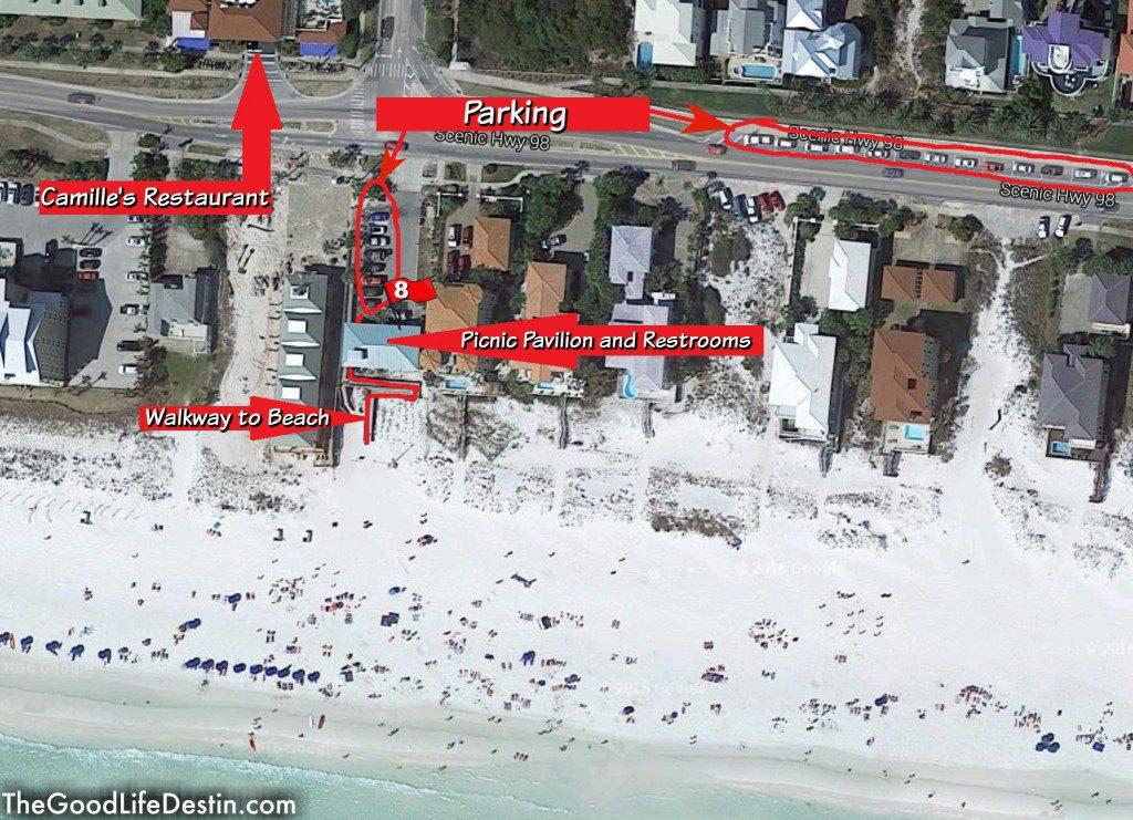 Shore at Crystal Beach Destin Florida