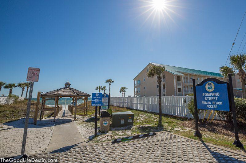 Pompano Street Public Beach Destin Florida