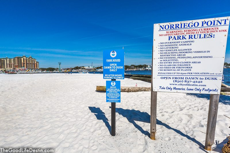 Norriego Point Public Beach Destin Florida