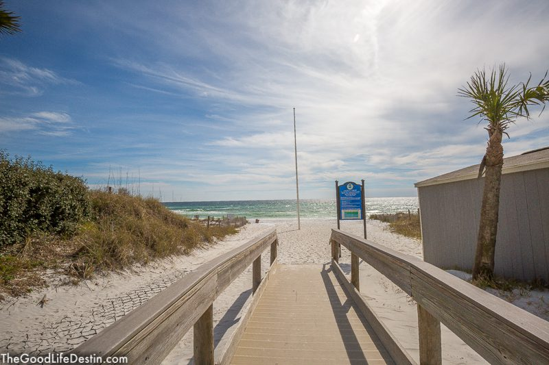 Shirah Street Public Beach Destin Florida