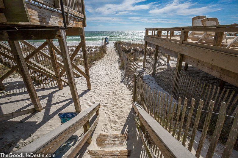 Barracuda Street Beach Destin Florida