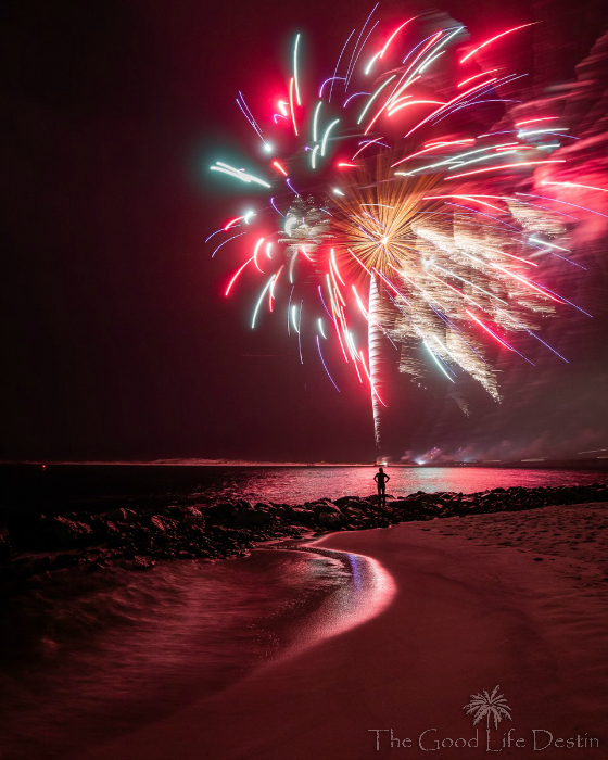 The Best Places to View the Destin Harbor Fireworks
