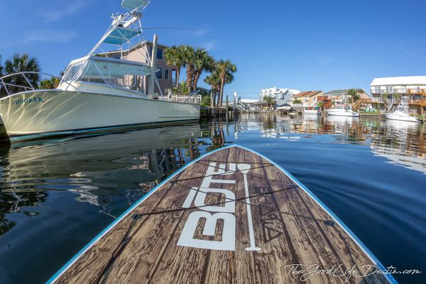 Stand Up Paddle Boarding on Destin Harbor - The Good Life Destin