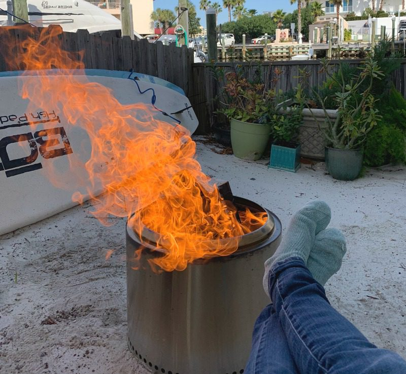 Destin Beach Bonfire Pit
