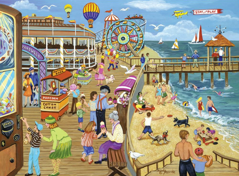 7 Jigsaw Puzzles that are Perfect for your Beach Vacation